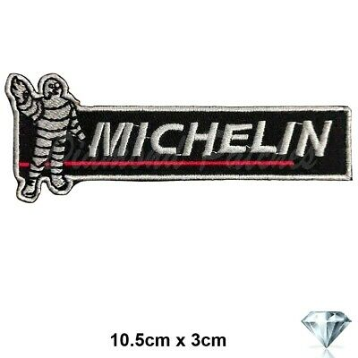 Michelin man Tyre logo jacket Iron on Sew on Embroidered Patch