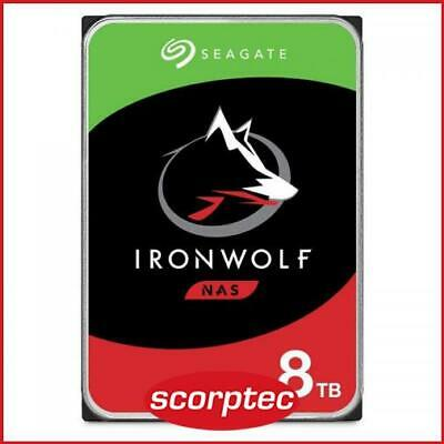 Seagate IronWolf 8TB 3.5 NAS Hard Drive, ST8000VN004