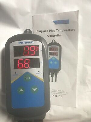 Inkbird ITC306T Digital Temperature Controller 110V Heat Control Only Thermostat