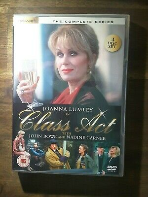 CLASS ACT Complete Series - Joanna Lumley ( DVD 4 DISC ) OVER 11 HOURS !! Rare