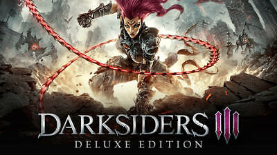 Darksiders 3 Deluxe edition +66 EXTRA GAMES (STEAM) - PC 2018