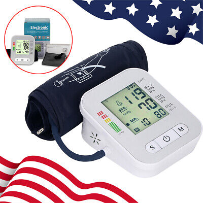 Health Care Automatic Wrist Blood Pressure Monitor With Voice USB Charger