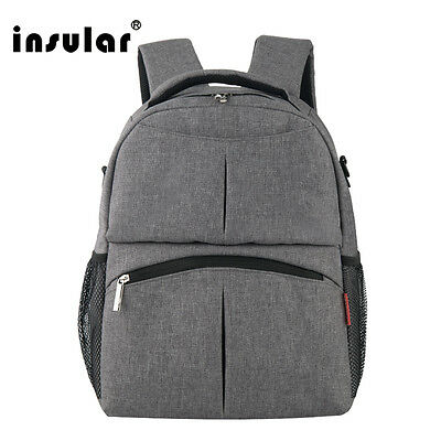 Mummy Multifunctional Baby Diaper Backpack Mommy Bag Backpack Nappy Changing Bag