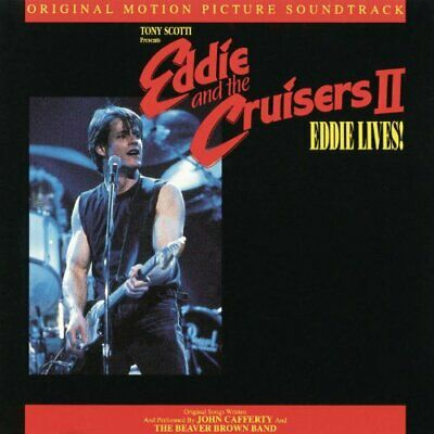 Eddie and the Cruisers II Soundtrack by John Cafferty Audio CD 43 minutes NEW