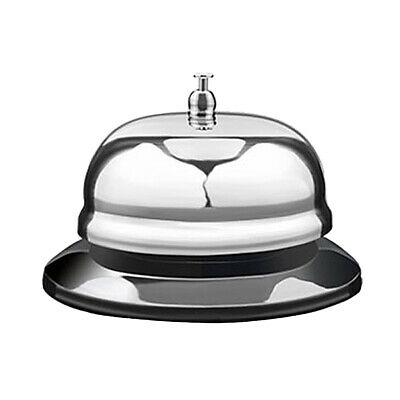 Call Bell Stainless Steel Metal Service Bell Call Desk Kitchen Hotel Counter