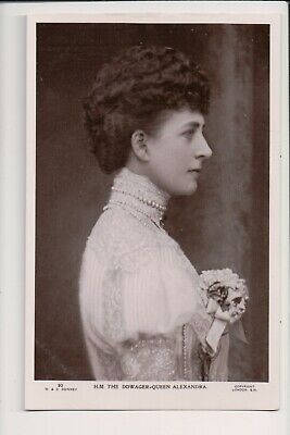 Vintage Postcard The Dowager Queen Alexandra
