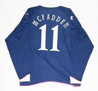 Scotland 08-09-10 Diadora Replica NOT Match Worn Home Shirt #11 James McFadden