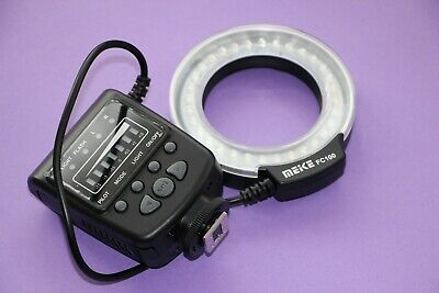 Meike FC-100 LED Macro Ring Flash Light For Canon EOS 5D, 5Ds, 5Ds R, 6D, 7D, 1D