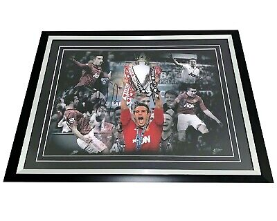 Robin Van Persie Manchester United Hand Signed Framed Photograph Authentic + Coa