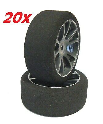 """20 Pairs"" 1/10 SP Foam Tire  37sh. for 1/10 Elettric Car WRC XRAY KYOSHO TAMIYA"