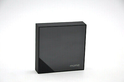 momit Home Thermostat Starter Kit (Thermostat + Gateway) - Pure Black by momit
