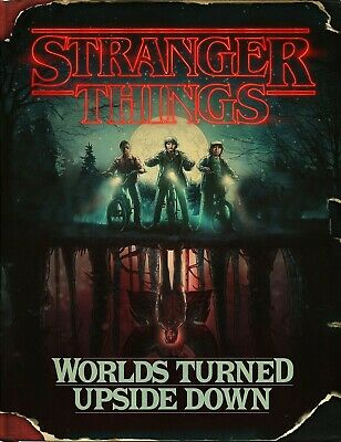 STRANGER THINGS The Upside Down Tv inspired Retro Vintage Metal Poster Wall SIGN