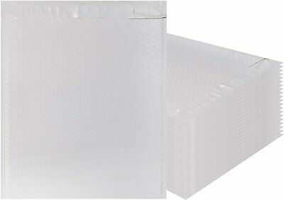 White Poly bubble mailers 14.75 x 19 Padded envelopes 14 3/4 x 19. Pack of 10.