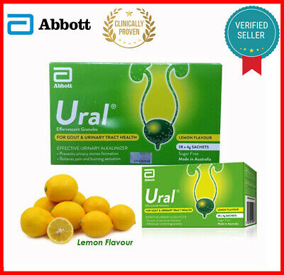 URAL EFFERVESCENT GRANULES - Gout Urinary Tract Infection