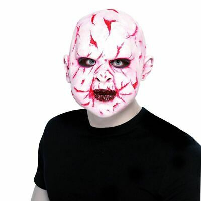 Mask Horror Latex ScarFace Maschera Lattice ScarFace Smiffy's Art.27418 One Size