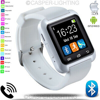 New Bluetooth 4.0 Smart Watch Fitness Tracker Heart Rate Blood Pressure Monitor