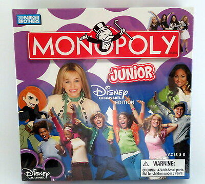 Monopoly Junior Disney Channel Edition  New in Box  Factory Sealed 2007
