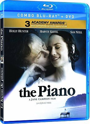 The Piano [Blu-ray + DVD] New and Factory Sealed!!