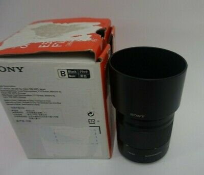 Sony E 50mm f1.8 OSS E-Mount Lens - Black (SEL50F18)