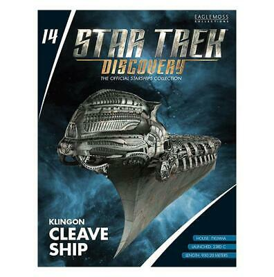 Eaglemoss KLINGON CLEAVE SHIP Star Trek Discovery Collection #14 IN STOCK