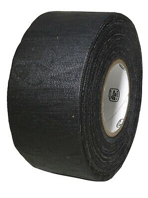 "T.R.U. Black Cotton Friction Tape Non-Corrosive Rubber Adhesive. 3/4"" X 60 Ft."
