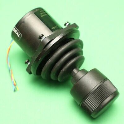 APEM / CH Products Hall Effect Magnetic 3-Axis Panel Mount Joystick HFX33R13