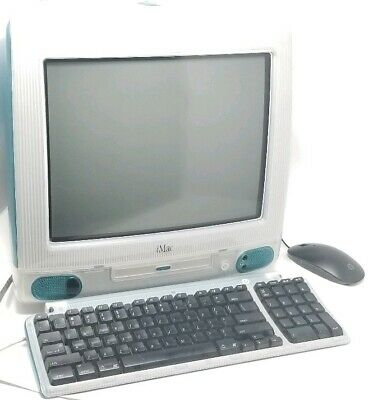 M7440LL//A* All In One Vintage PC Apple iMac G3//333 Fruit Colors//Tangerine