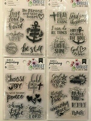 American Crafts Bible Journaling Sticker Tabs Chapters 718813786768