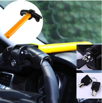 Anti-Theft Security Rotary Steering Wheel Lock Universal Auto Car HEAVY DUTY