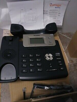 LOT OF 4 Yealink SIP-T21 T21P IP Phone as Call Center Trixbox USED