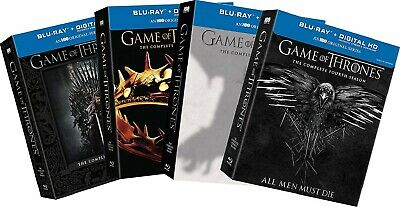 Game of Thrones: Seasons 1-4 (Blu-ray Disc, 2014)