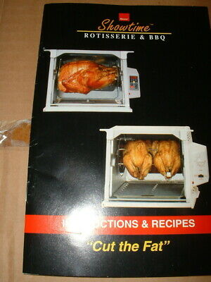 Ronco Showtime Rotisserie & BBQ 4000 Full Size New in Opened Box