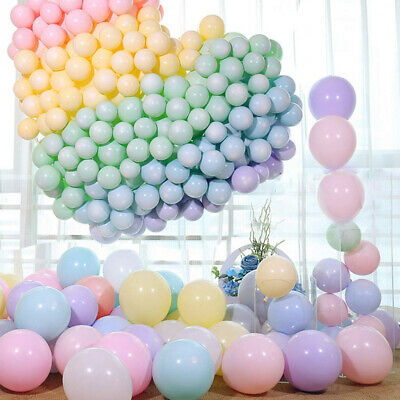 100pcs 5In Macaron Latex Balloons Baby Shower Birthday Wedding Party Decoration