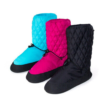 Brand New Stylish Quilted Dance Ballet Warm Up Booties