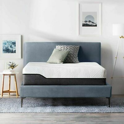 LUCID 10 inch Innerspring and Memory Foam Hybrid Mattress - Twin Full Queen King