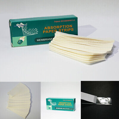 30Pack 100Strips/Pack 2.5-2.8 mm Width 80 mm Length Fast Absorbent Paper Strips