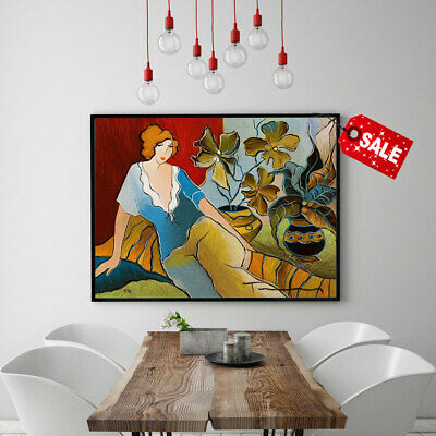 Canvas Itzchak Tarkay Libi Modern Art Print Home Decoration Oil Painting 12x16