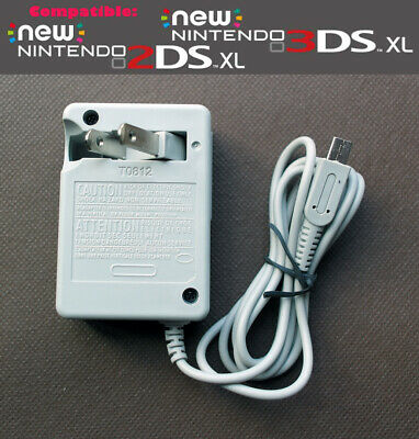 Nintendo 3DS 2DS DSi LL XL Replacement Wall Charger AC Power Adapter 100 - 240V