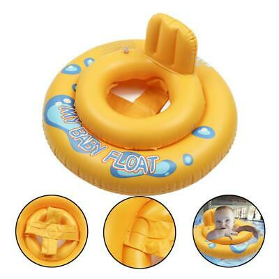 Infants Baby Float Swimming Ring Toddler Inflatable Rubber Ring Safety w/ Seat