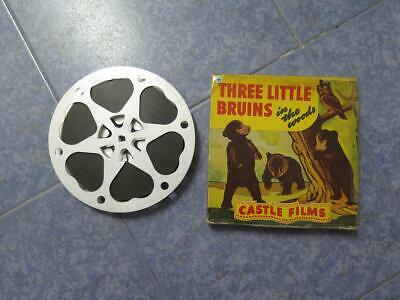 Three  Little  Bruins  (In The Woods) -Película 16Mm- Old Movie  Retro Vintage