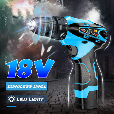 Brushless Cordless Electric 18V LXT Li-Ion Drill Driver Impact Wrench LED Light