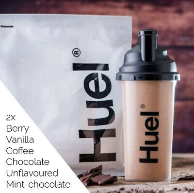 Huel v2.3 *Pick Flavours* 2X 1.75Kg 14000Kcal Nutritionally Complete Food Powder