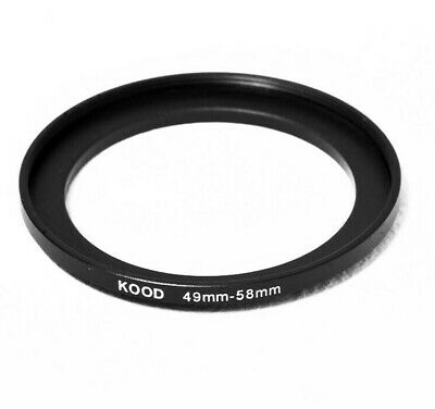 Stepping Ring 49-58mm 49mm to 58mm Step Up Ring Stepping Rings 49mm-58mm
