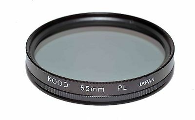 55mm High Quality Kood Linear Polarizing Filter Made in Japan Polarizer 55mm