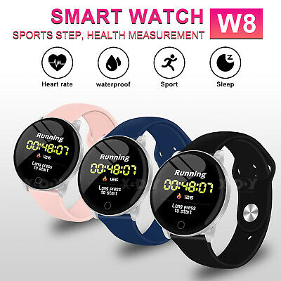 XGODY Bluetooth Smart Watch Fitness Tracker Pedometer Adult&Kids For Android iOS