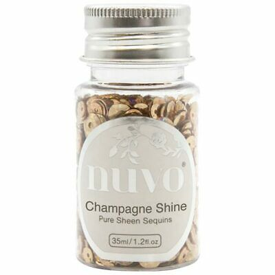 Nuvo Pure Sheen Sequins Champagne Shine 35ml