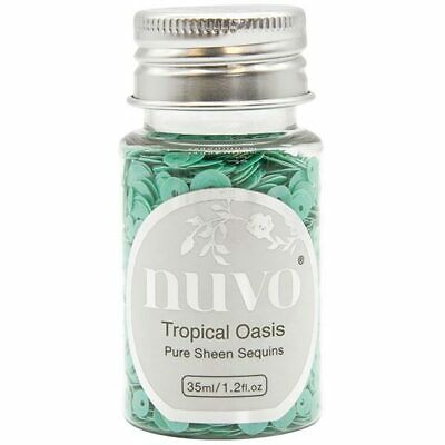Nuvo Pure Sheen Sequins Tropical Oasis 35ml
