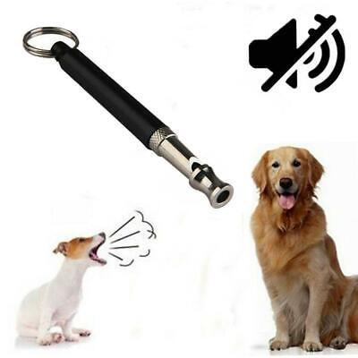 Dog Puppy Whistle Training Ultrasonic Pitch Sound Adjustable Silent Key Ch Good