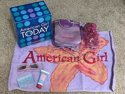 GNM18 BRAND NEW RETIRED Fast Ship American Girl Summer Collection