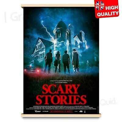 Scary Stories to Tell in the Dark Horror/Thriller Movie Poster #2 | A4 A3 A2 A1